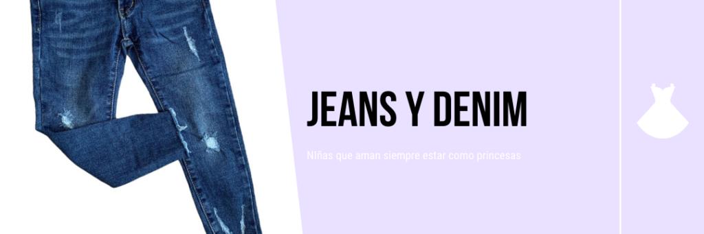 jeans para niñas