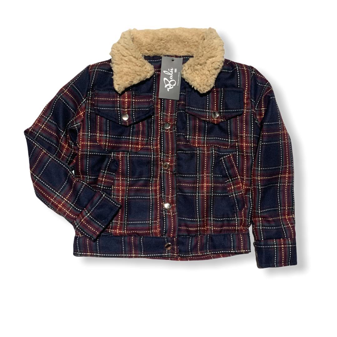 chaqueta para niño tipo ovejera