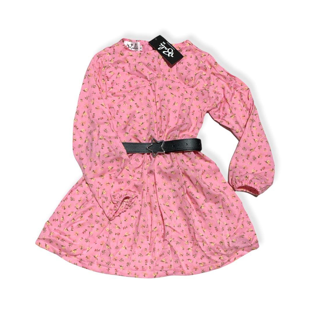 vestido para niña con flores